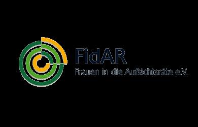 Logo FidAR – Frauen in die Aufsichtsräte (FidAR) e.V.